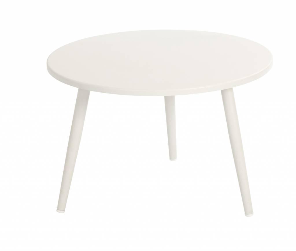 Coppa lounge tafels  60 cm aluminium