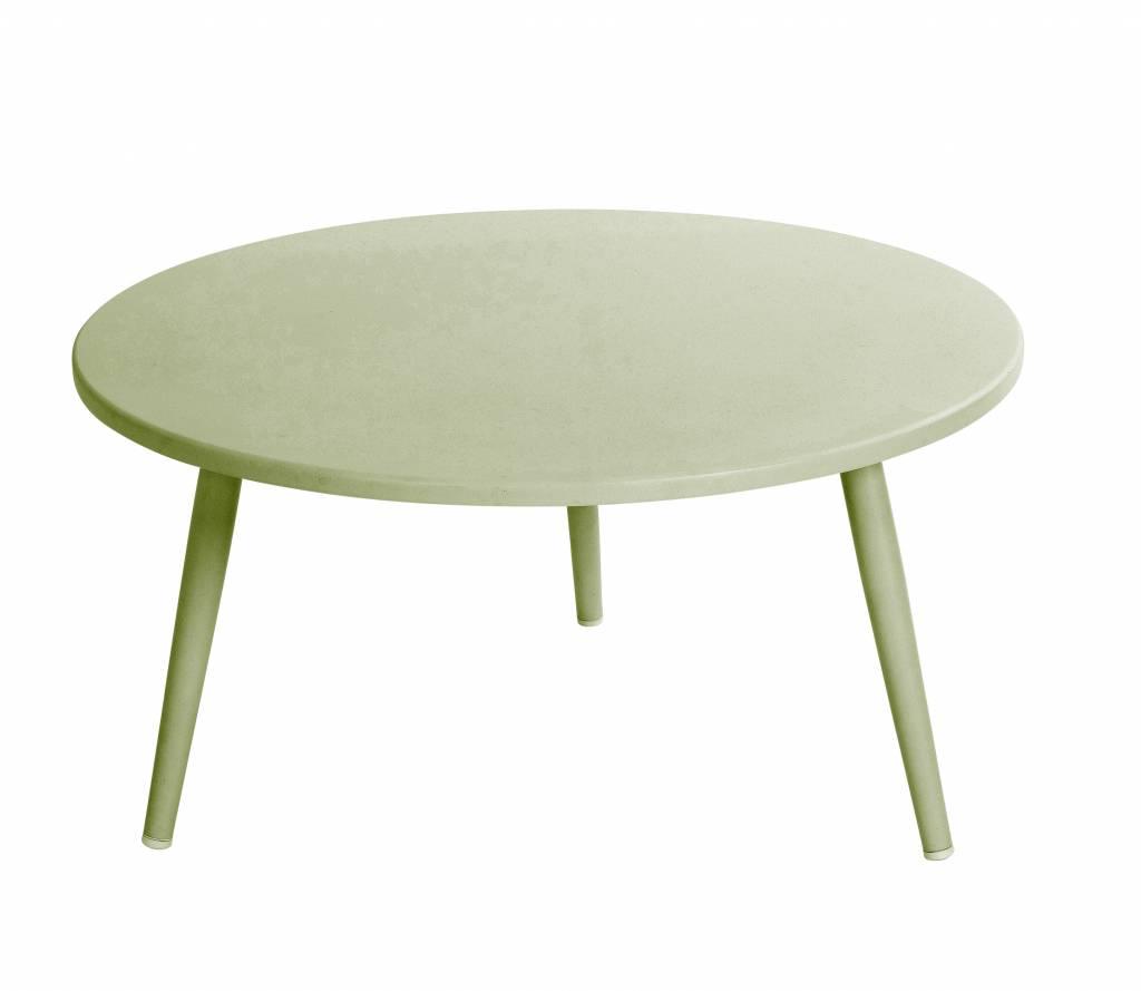 Coppa lounge tafels  70cm aluminium