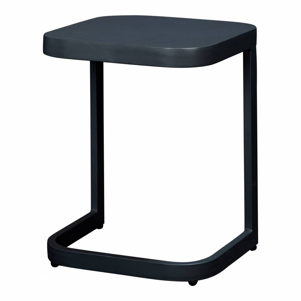 Scaloppino sidetable, aluminium