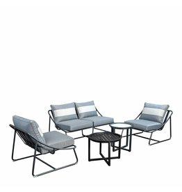 Todt Hill 5-delige sofaset incl. Queens tafels