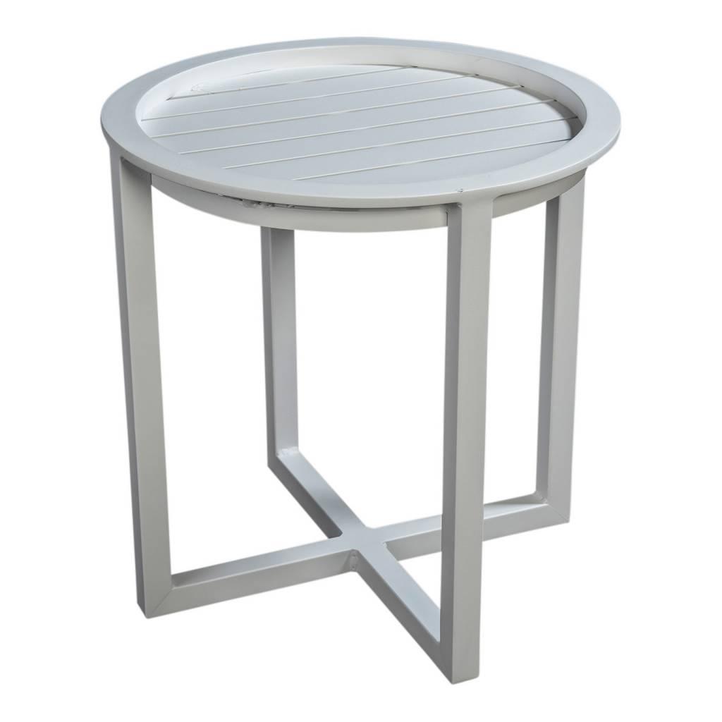 Queens loungetafel 50cm,  aluminium