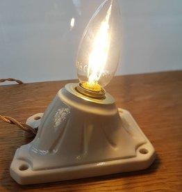 Porseleinen wandlamp bureaulamp