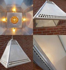 Zeldzame XL pyramide lampen spiegeleffect