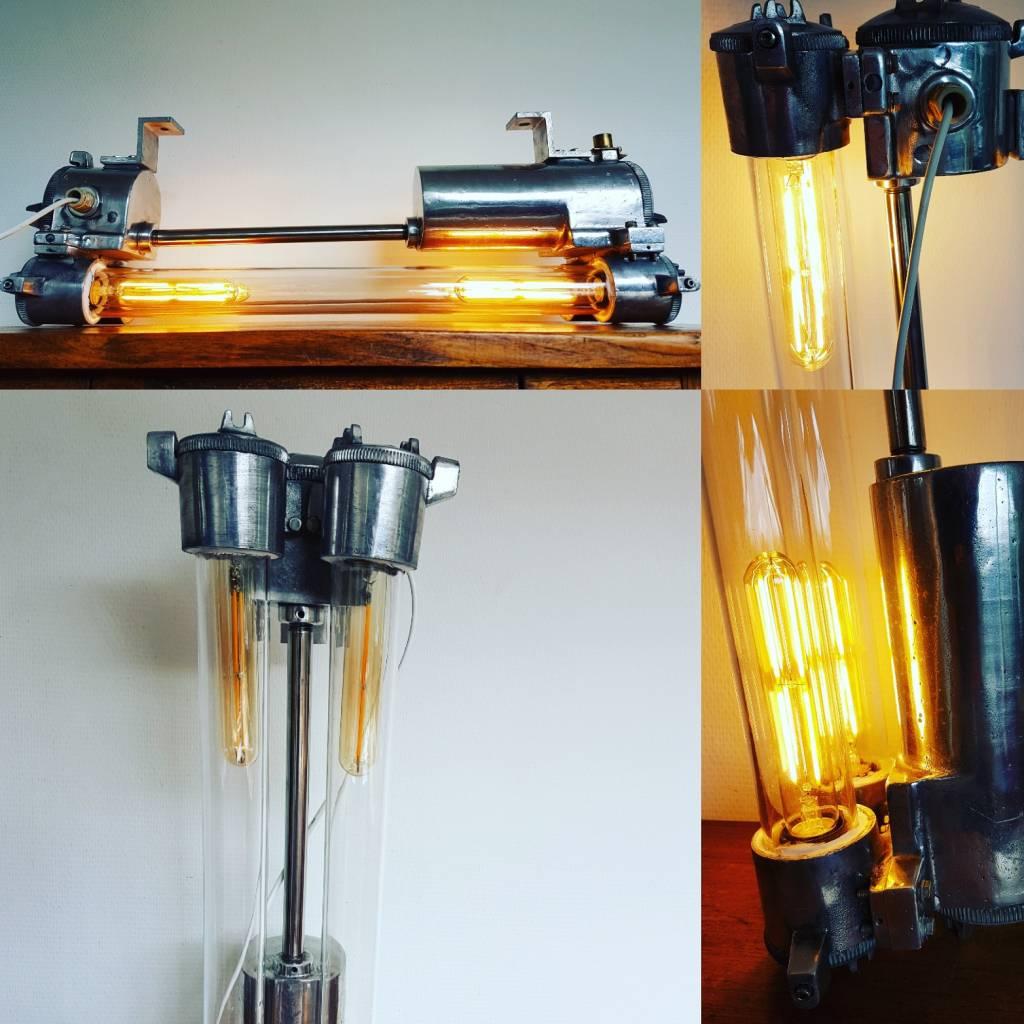Dubbele wandlamp / plafondlamp / hanglamp