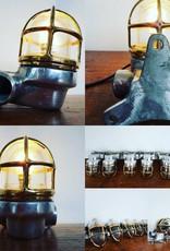 Industriele mini wandlamp