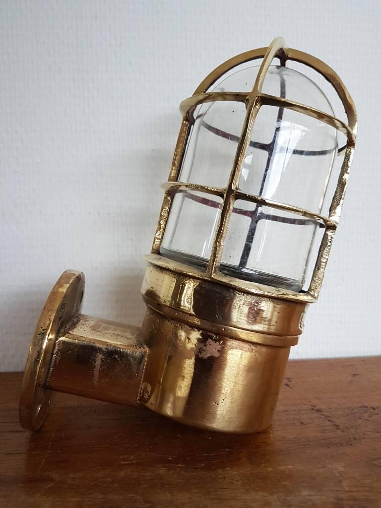 Industriele messing wandlamp scheepslamp buitenlampen