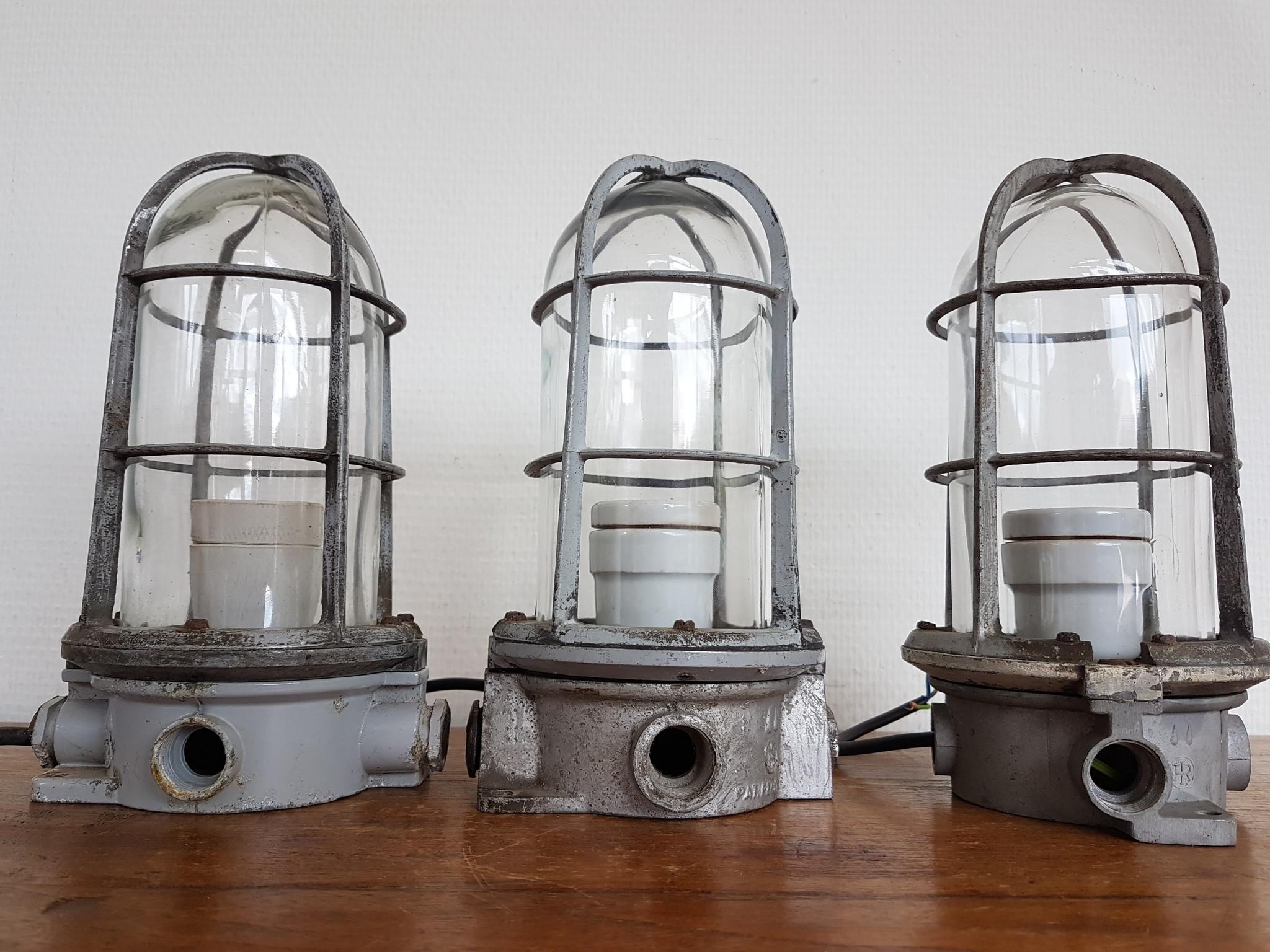 Gietijzeren Industria Rotterdam lampen