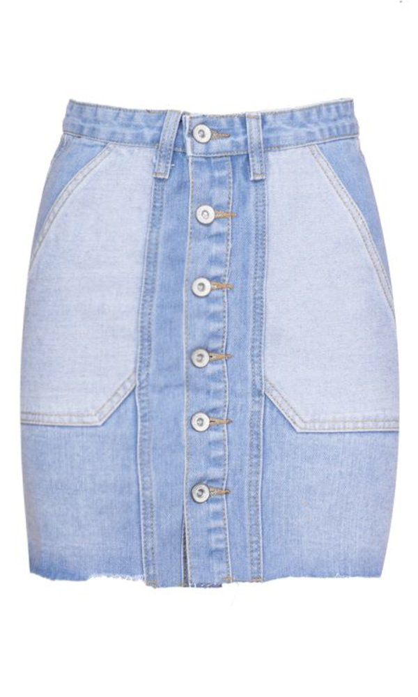 AVA DENIM SKIRT