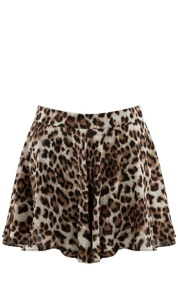 PRETTY IN LEOPARD SHORT