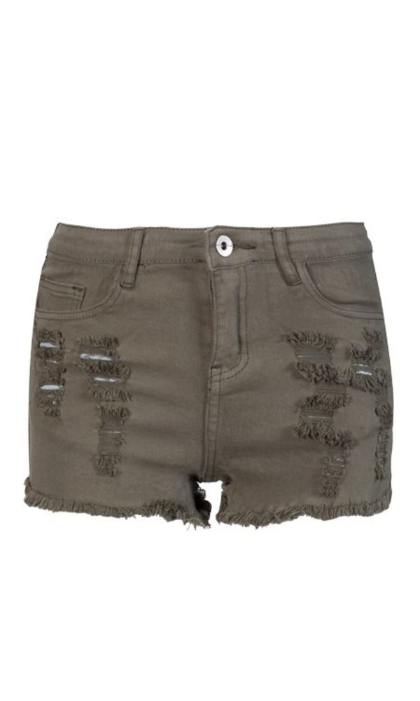Khaki Demin Short