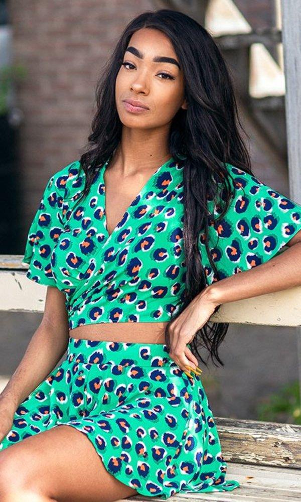 Pretty In Leopard Short