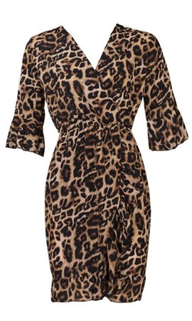 LEOPARD KISS DRESS