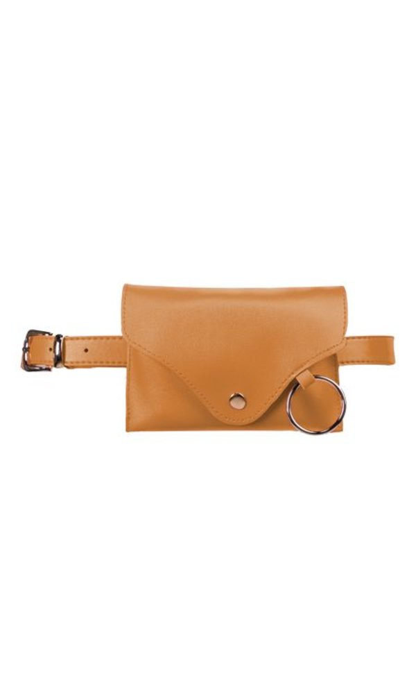 Plain belt bag yellow