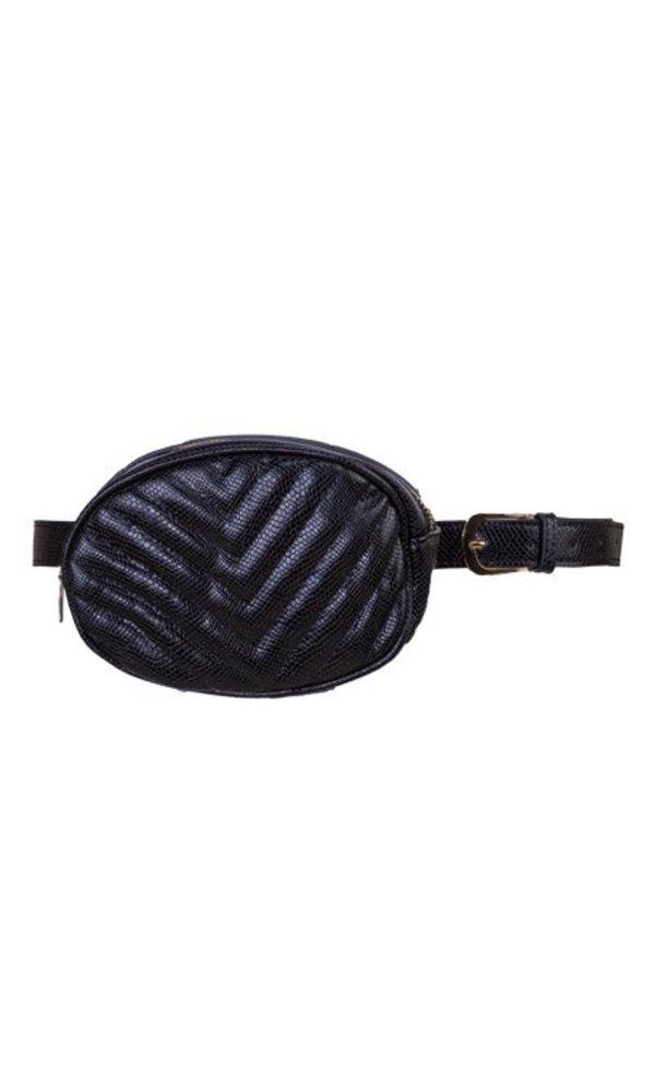 Snake belt bag