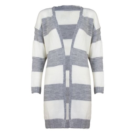 MERI STRIPED CARDIGAN