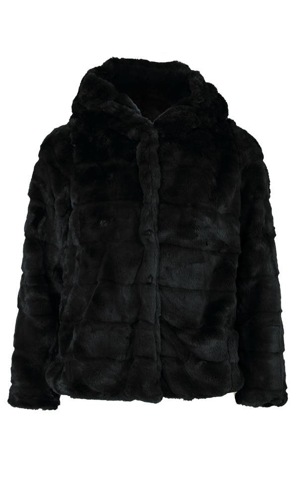 AMY FAUX FUR COAT