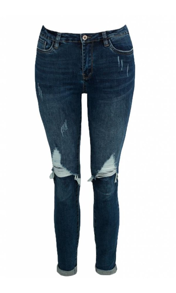 SHIRLEY DAMAGED JEANS