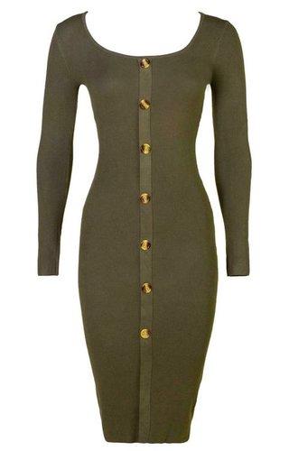 d4d0a8415e134a Order your khaki dress online - Jurkjes.com