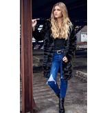 Bella faux fur coat