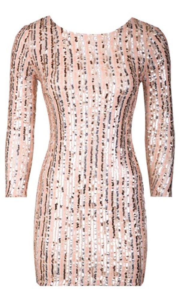 MAUD GLITTER DRESS