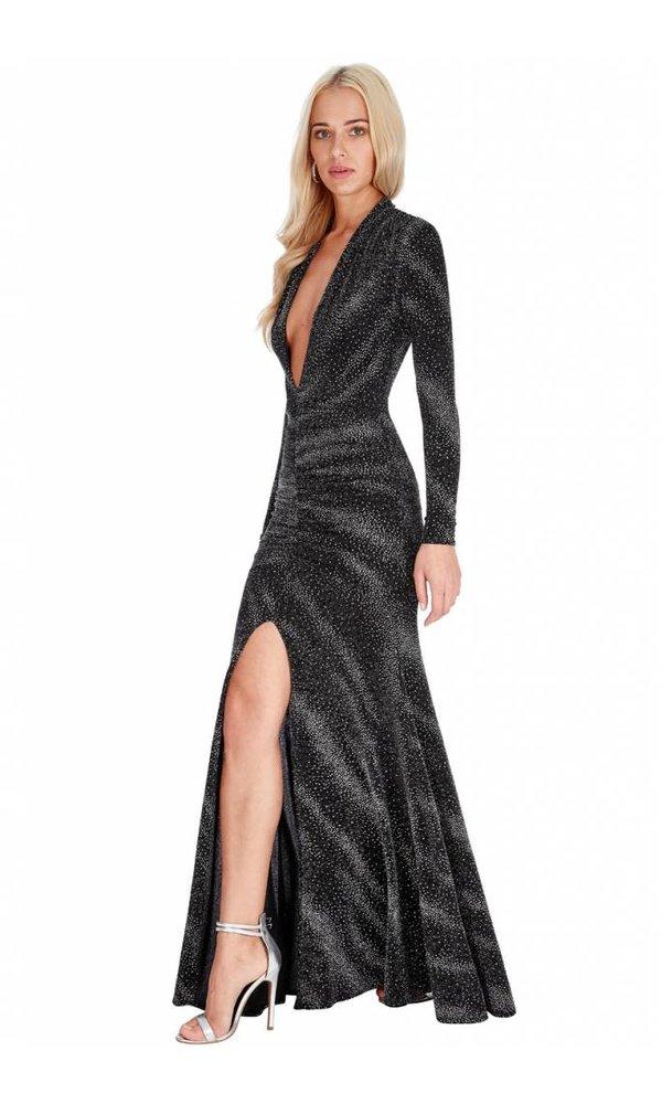 SPARKLY MAXI DRESS