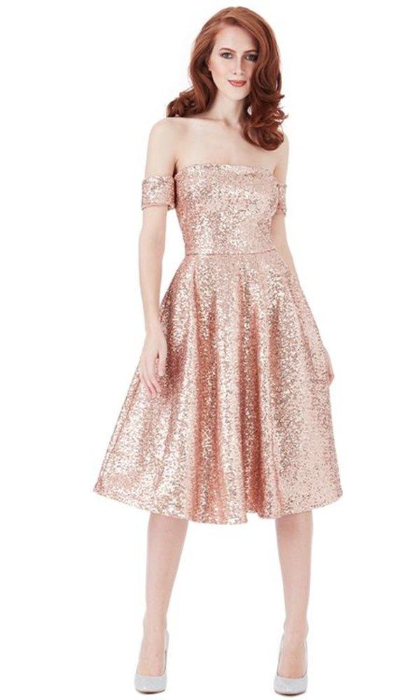 ROOS OFF SHOULDER DRESS