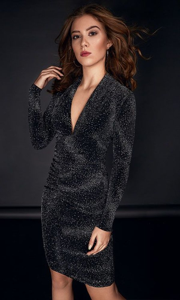 ELODY GLITTER DRESS