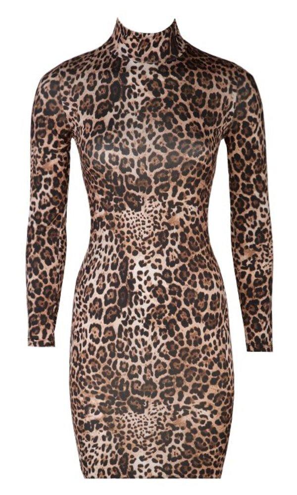 ELLEN LEOPARD DRESS