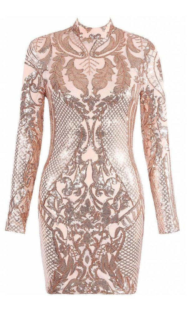 SYLVIE SEQUIN DRESS