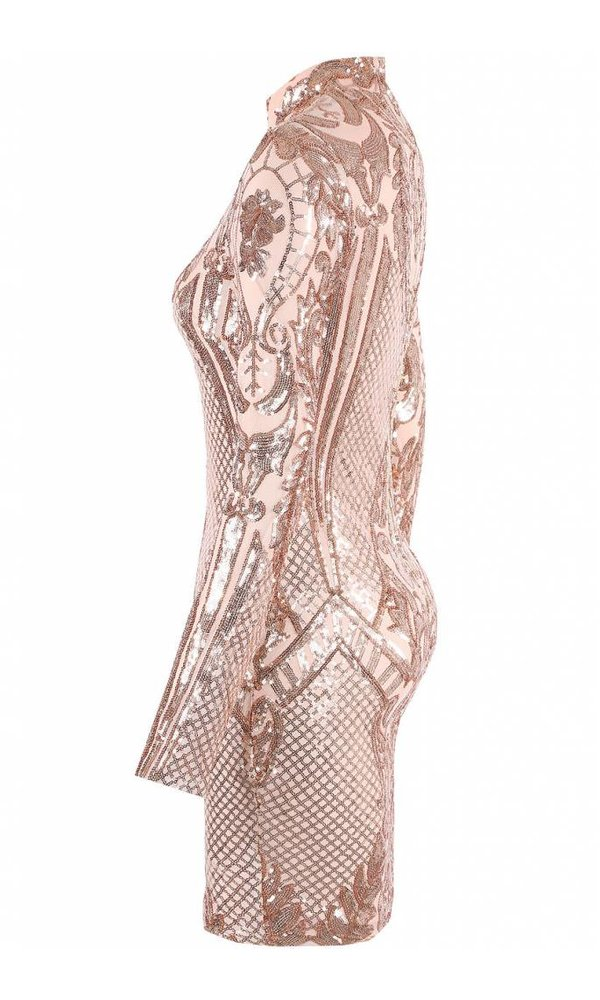 SYLVIE SEQUIN DRESS