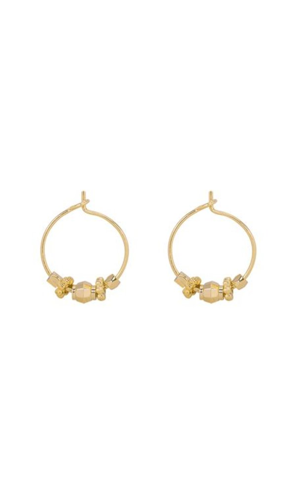 GOLDEN ROCKS EARRINGS