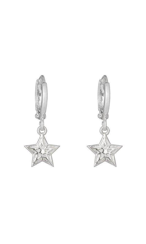 SPARKLING STAR EARRINGS