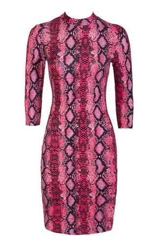 CHELSEA SNAKE DRESS