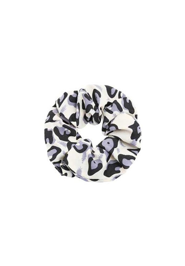 PURPLE LEO SCRUNCHIE