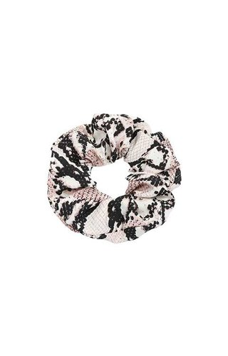 BROWN SNAKE SCRUNCHIE
