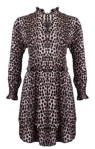 MAY LEOPARD DRESS