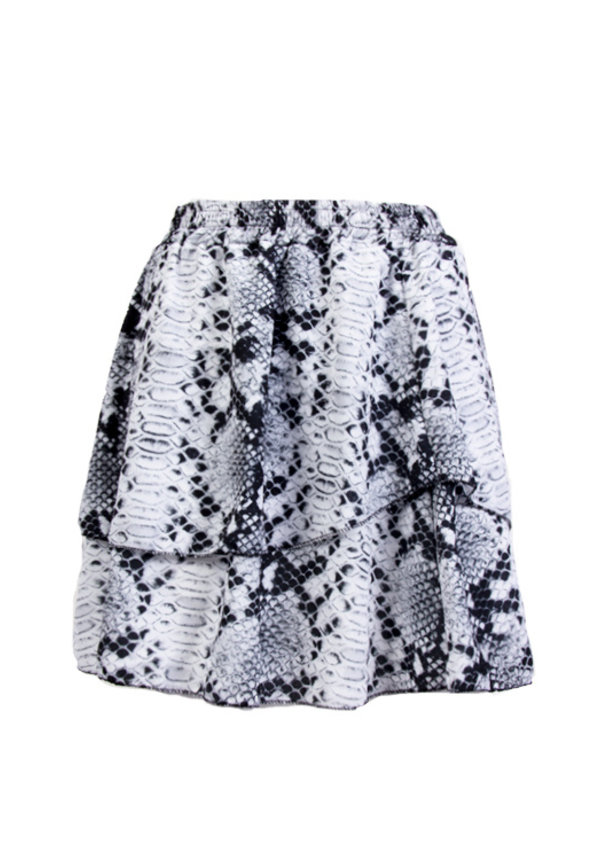 IMKE LAYERED SNAKE SKIRT