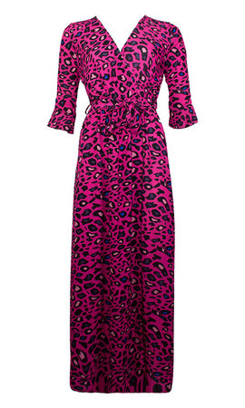 PLEUN LEOPARD MAXI DRESS