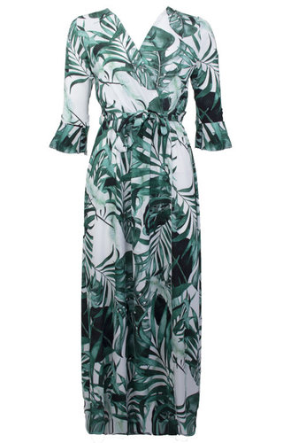 PLEUN TROPICAL MAXI DRESS