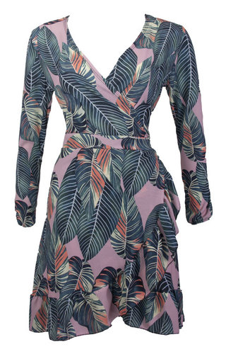 SERA HAWAI WRAP DRESS
