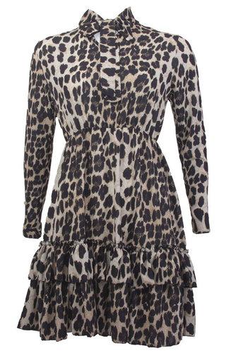 KAYLEE LEOPARD DRESS