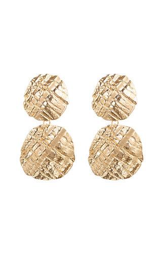 GOLD TURTLE EARRINGS