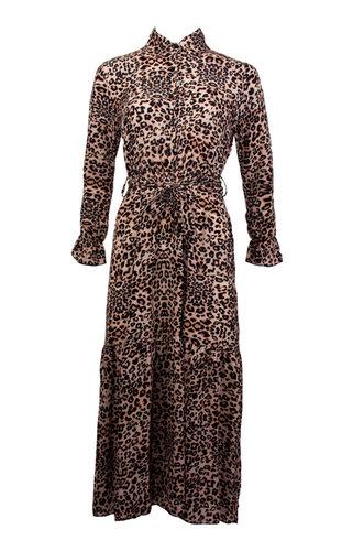 KATE LEOPARD MAXI DRESS