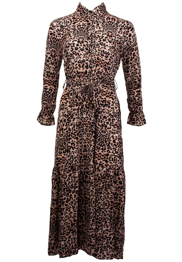 KATE LEOPARD MAXI DRESS