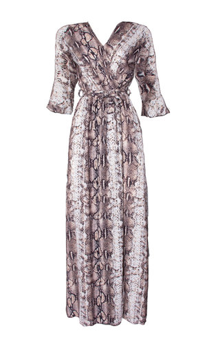 PLEUN SNAKE MAXI DRESS