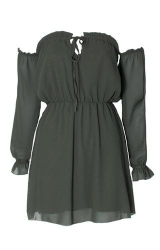 LAURA OFF SHOULDER DRESS