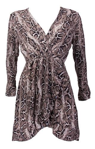 EVA SNAKE DRESS