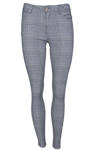DOMINIQUE CHECKERED PANTS