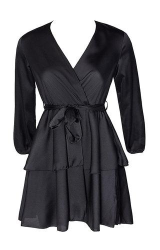 OLIVIA SATIN DRESS