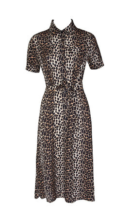 ROOS LEOPARD MAXI DRESS